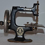 Antique Doll Childs Miniature Singer Sewing Machine