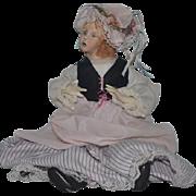 Vintage Doll Artist Francesca Character Doll Porcelain