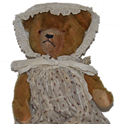 Old Teddy Bear Jointed Mohair Sweet