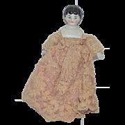 Old Doll China Head Miniature Dollhouse