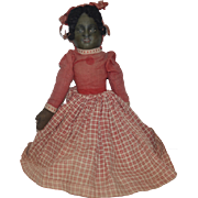 Old Doll Cloth Doll Topsy Turvy Black Doll White Doll
