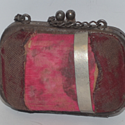Old Doll Purse Miniature