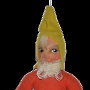 Vintage Doll Kersa Cloth Doll Felt Doll