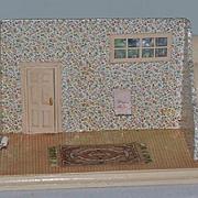 Vintage Doll Miniature Doll Room Dollhouse Diorama