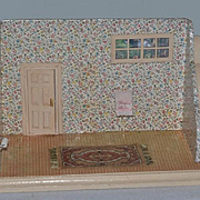 Vintage Doll Miniature Doll Room Dollhouse Diorama