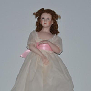 Vintage Doll Artist Linda D. Cheek Porcelain Doll