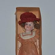 Antique Doll DEP Marked Bisque In Original Box W/ Original Clothes