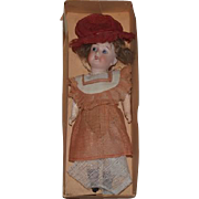 Antique Doll DEP Marked Bisque In Original Box W/ Original Clothes