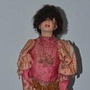 Antique  Doll French Automaton The Ladder Acrobat  Wonderful Key Wind Up Mechanism