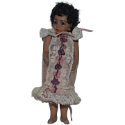 Artist Doll Cathy Hansen Black Miniature Dollhouse Doll