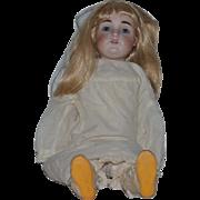 "Antique Doll Kestner 154 Dep Bisque Gorgeous 25"" Tall"