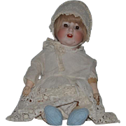 Antique Doll Big Bisque Baby K & K Toddler Sweet