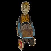 Old Mortimer Snerd Wind Up Car Marx