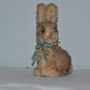 Old Doll Toy Rabbit Miniature Mohair Steiff Bunny Adorable