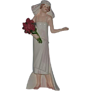 Wonderful Goebel Figurine Her Treasured Day  Bride Doll