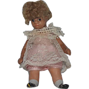 Vintage Doll Artist Black Dollhouse Miniature Jointed Adorable