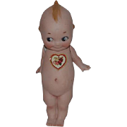Old Doll Large Kewpie Figurine Rose O'Neill Signed