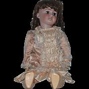 "Antique Doll Bisque C.M. Bergmann Simon & Halbig Huge Doll 29"" Tall"