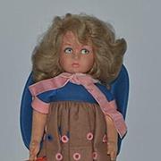 Vintage Doll Lenci Cloth Doll Felt Doll In original Box