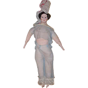 Large Doll Ruth Gibbs China Head Unusual