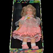 Vintage Lenci Doll in Original Box Cloth Doll Aurellia W/ Tags
