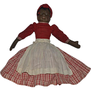 Old Doll Cloth Topsy Turvy Black Doll White Doll Rag Doll