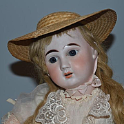 Antique Doll French Bisque Phenix Star on Crier Body Gorgeous
