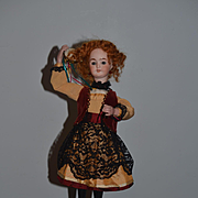 Antique Doll Automaton Mechanical Wind Up Leopold Lambert