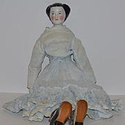 Antique Doll China Head Morning Glory Fancy Doll Kloster Veilsdorf
