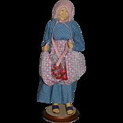 Wonderful Doll Artist NIADA JUNE GOODNOW Apple Lady Wonderful