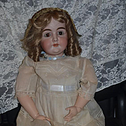 Antique Doll LARGE Bisque Kestner Letter Doll Gorgeous N 17 Excelsior Body
