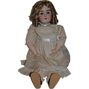 Antique Doll LARGE Bisque Kestner Letter Doll Gorgeous N 17 Excelsior Body