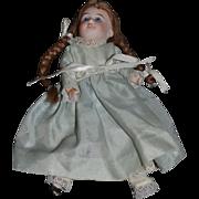 Antique Doll Bisque Miniature Cabinet Size