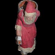 Wonderful Vintage Santa Claus Doll Papier Mache Paper Mache Large