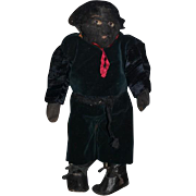 Old Doll Cloth Doll Rag Doll Black Folk Art  Unusual