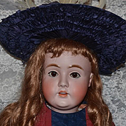 "Antique Doll Kestner LARGE 142 Big and Beautiful 36"" Tall"