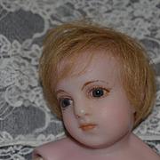 Wonderful Doll English Poured Wax Child Glass Eyes