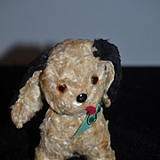 Old Dog Mohair Button Nose Floppy Ears Doll Friend
