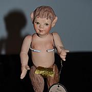 Wonderful Doll Artist Doll Pam Sandra Wright Justiss Limited Edition Character Award Winner! Half Man Half Horse U.F.D.C