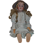 "Antique Doll Large Bisque Head Doll # 136 28"" Beauty"