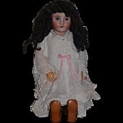 """Antique Bisque Doll Heinrich Handwerck Simon & Halbig Stamped Body 30"""" WOW Dressed"""