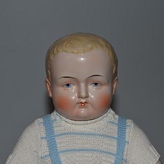 Antique Doll Frozen Charlie Blonde Hair Adorable