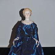Vintage Doll Emma Clear Artist Doll Signed Parian