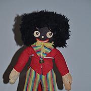 Old Doll Black Doll Cloth Doll Rag Doll Golliwog