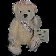 Vintage Steiff Teddy Bear Bridal Bear Signed By Dick Franz W/ Tags UFDC