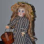 Antique Doll Bisque Closed Mouth