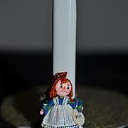 Artist Doll Miniature Raggedy Ann Signed Dollhouse Toy