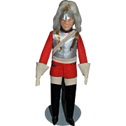 Old Cloth Doll Felt Doll Soldier