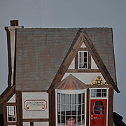 Wonderful Dollhouse Antique Doll Store Miniature Robert E. Bernhard Artist
