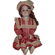 Antique Doll Wonderful Clothing Bisque Armand Marseille  Fancy Girl